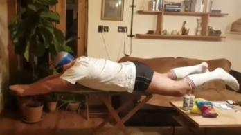 Ha visszamehetne az időben, nem csinálná meg újra a vasalódeszkás videót az eltiltott tornatanár