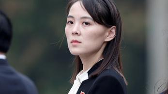 Katonai akcióval fenyegette Dél-Koreát Kim Dzsongun húga