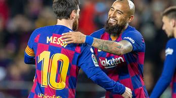 Egy percet sem kellett várni a Barcelona első góljára