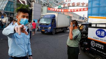 Kínában második hullám fenyeget, megugrott az új esetszám