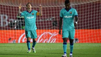 Messi megint felállított egy megdönthetetlennek tűnő rekordot