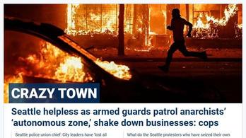 Hamis képpel próbálta erőszakos zavargásnak bemutatni a tüntetést a Fox