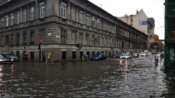 Így söpörte el a vihar Budapestet