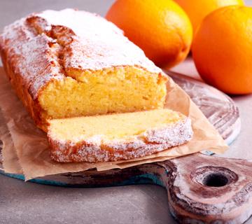 Gluténmentes bögrés narancsos süti, ráadásul cukor- és tojásmentes is