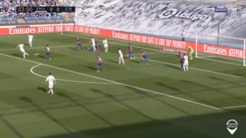 Kroos gyönyörű gólt vágott a hosszú felsőbe, 3-1-re nyert a Real