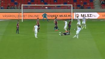 A forduló gólját vágta az Újpest légiósa
