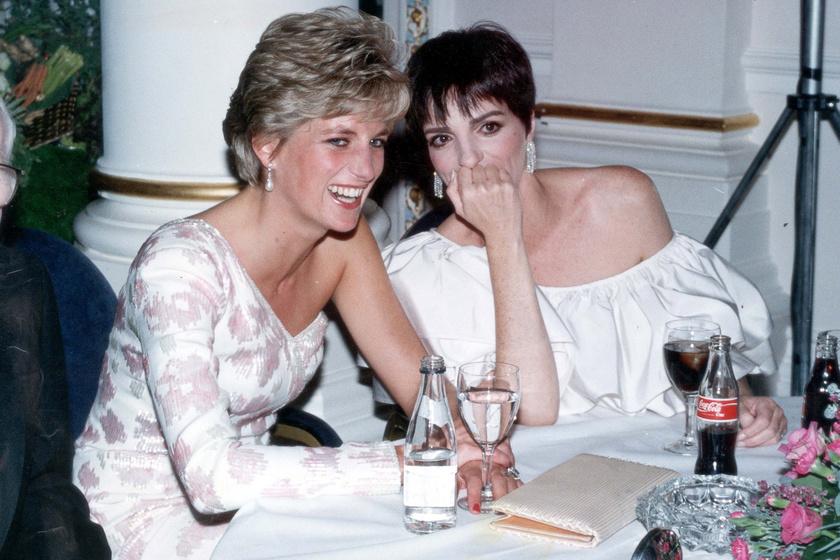 Liza Minnelli Harry édesanyjával, Diana hercegnővel is jó viszonyt ápolt.