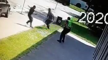 Videón, ahogy a szlovák rendőrök lelövik az iskolai támadót