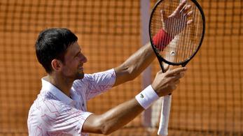 Djoković sírva búcsúzott saját tenisztornáján