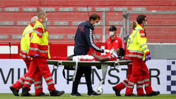Ájult játékos életét mentette meg a Bundesliga-bíró