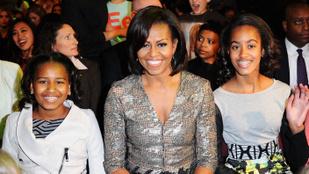 Michelle  Obama elmondta, hogy nevelte lányait, amikor még a Fehér Házban éltek