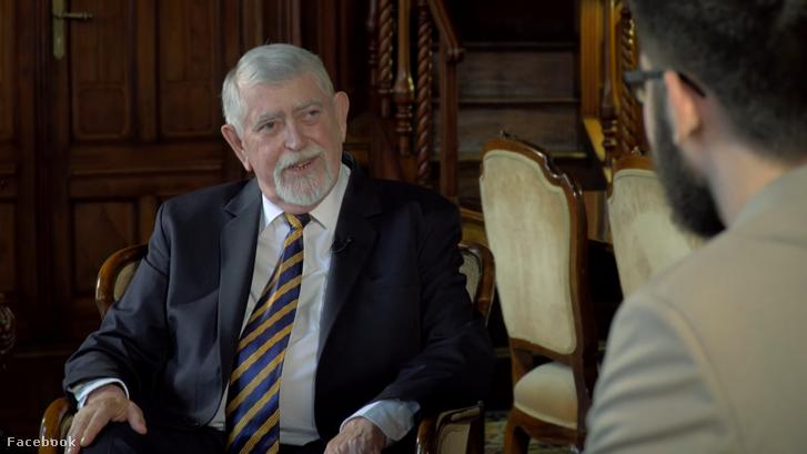 Kásler Miklós az interjúban