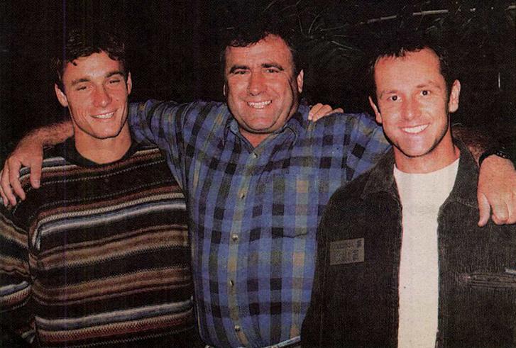 Kolonics György, Ludasi Róbert és Horváth Csaba. Forrás: Nemzeti Sport 1996. 323. szám / Arcanum adatbázis
