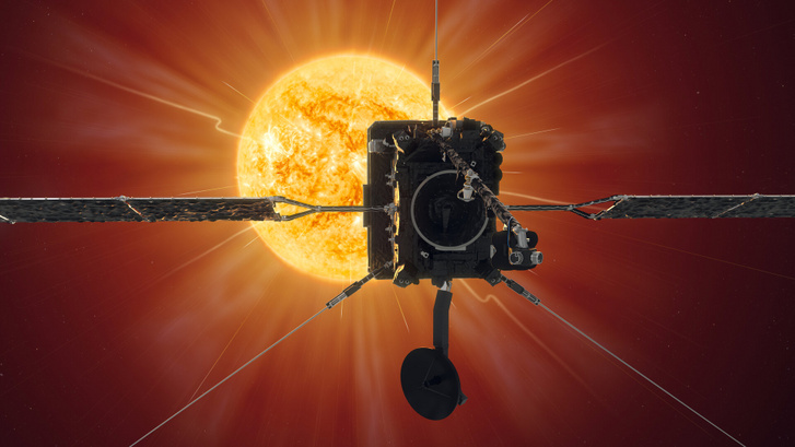 A Solar Orbiter látványrajza