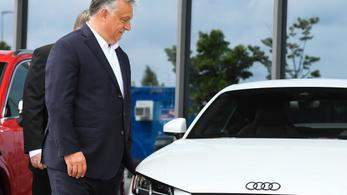 Orbán: A kabinet kész pénzügyi hátteret is biztosítani a győri Audi működéséhez