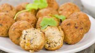 Ízletes vegán csicseriborsó-golyók + egy extra ötlet (glutén-, tej-, tojásmentes recept)
