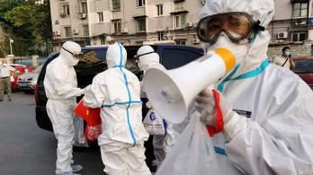 Bedurranni látszik a pekingi piacról indult járványgóc