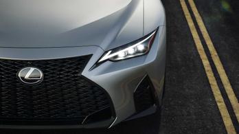 Leleplezték az új Lexus IS-t