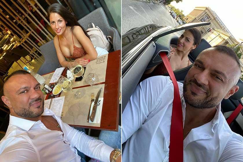 Gáspár Laci a szülinapi ünneplést azzal nyitotta meg, hogy gyönyörű feleségével elment vacsorázni.