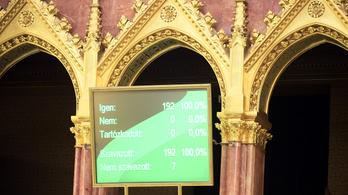 Megszavazta a parlament, hogy legyen vége a veszélyhelyzetnek