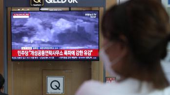 Észak-Korea felrobbantotta a Dél-Koreával közös összekötő irodát
