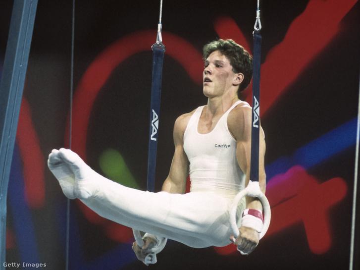 Csollány Szilveszter az 1990-ben Seattle-ben megrendezett Goodwill Gamesen
