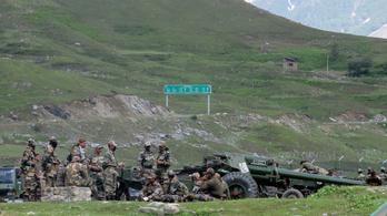 Legalább 20 halottja van a kínai–indiai határvillongásoknak