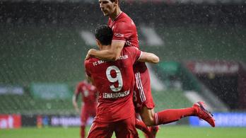 Zsinórban nyolcadjára német bajnok a Bayern München