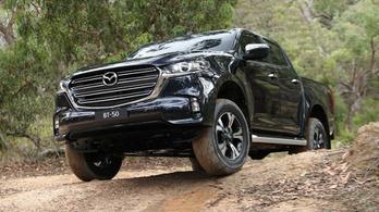 Egész csinos az új platós Mazda