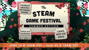 900 játékot próbálhat ki a Steam nyári fesztiválján