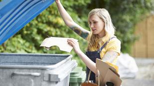 Egyre jobbak vagyunk szelektív hulladékgyűjtésben, de inkább csak elméletben