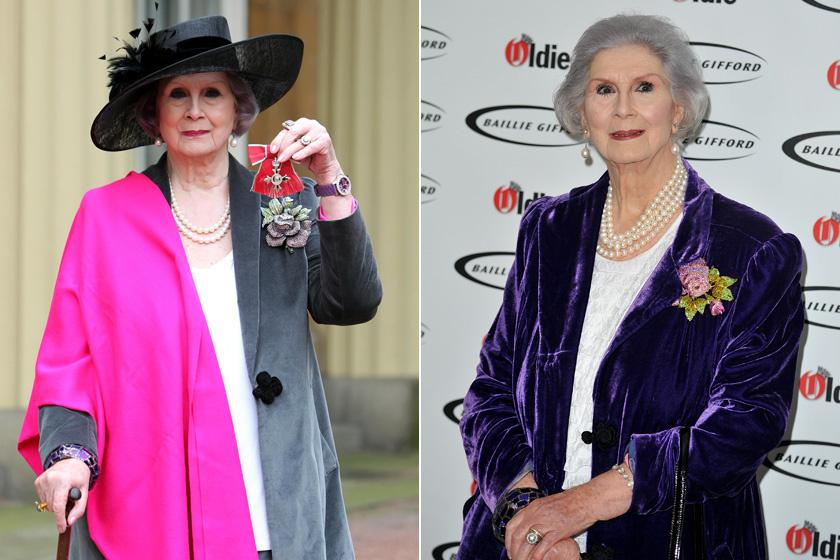 April Ashley 2012-ben és 2018-ban