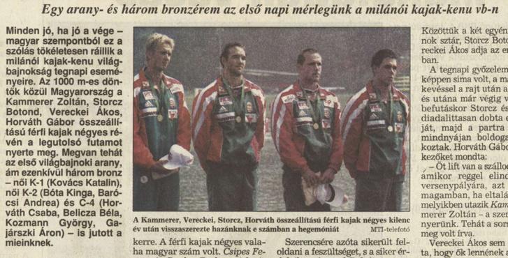 Vasárnapi Hírek, 1999. július-december (15. évfolyam, 27-51. szám)1999-08-29 / 35. szám / Arcanum adatbázis
