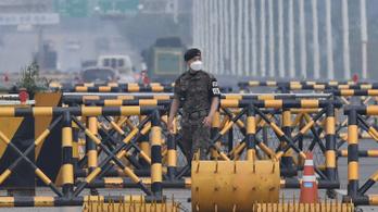 Az észak-koreai hadsereg nem hajlandó tárgyalni, a keszongi övezetbe való bevonulással fenyeget