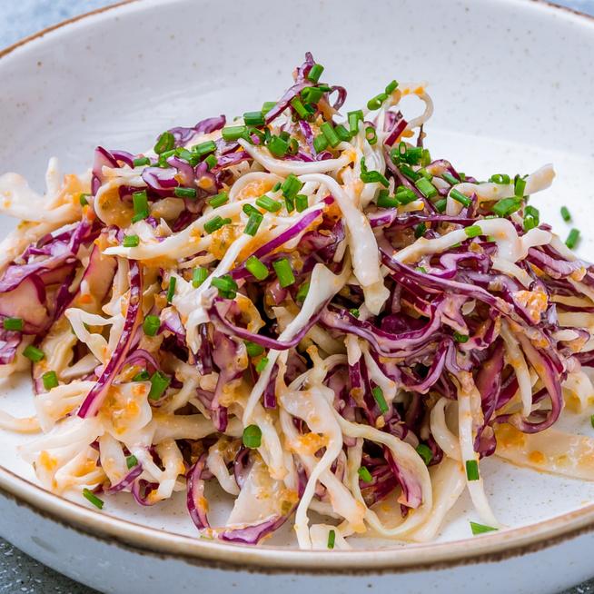 Szuper egészséges káposztasaláta majonéz nélkül – A coleslaw is lehet kalóriaszegény