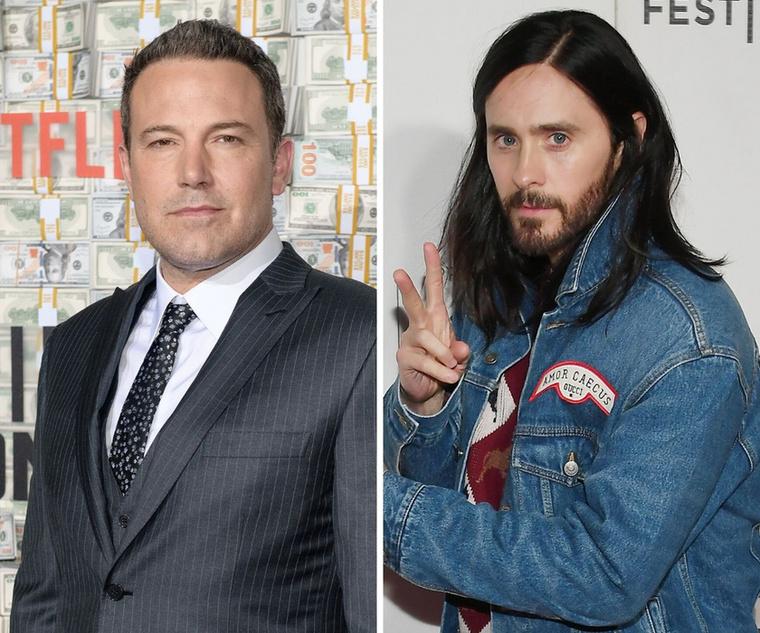 Ben Affleck és Jared LetoMindkét színész a 49