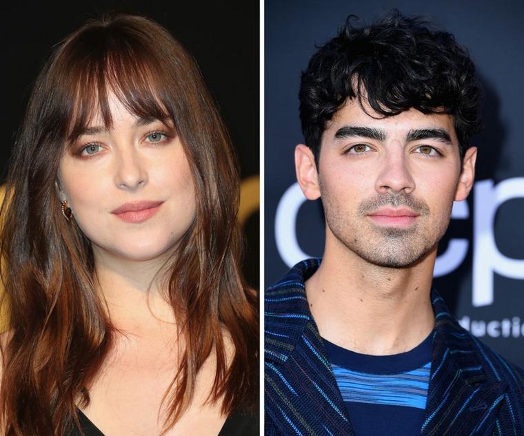 Dakota Johnson és Joe JonasJogos a kérdés, hogy mégis hogy jön egymás mellé a 30 éves színésznő és a 30 éves énekes