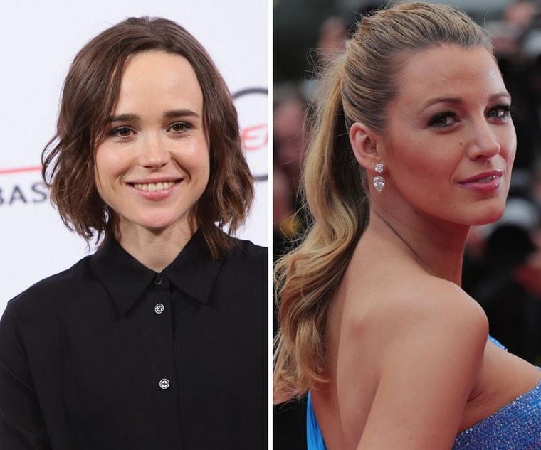 Ellen Page és Blake LivelyÚjabb hölgypáros, akik mindketten 33