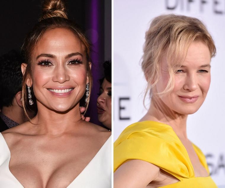 Jennifer Lopez és Renée ZellwegerÍgy van, Jlo és a Bridget Jones sztárja is éppen 51 évesek