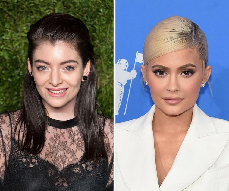 Lorde és Kylie JennerHihetetlennek tűnhet, de a két celebnő között alig kilenc hónapnyi korkülönbség van