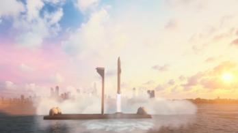 Úszó űrkikötők építését tervezi a SpaceX