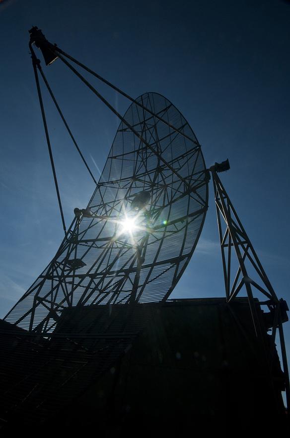 A bólogatós radar ma már nemigen mozdul. Régebben ezek figyelték a magyar légteret és annak környékét