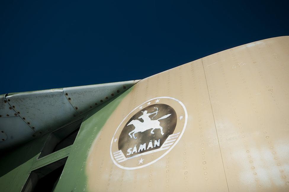A Sámán század jelvénye a kétüléses MIG-23-ason volt látható. 1997-ben feloszlatták őket is