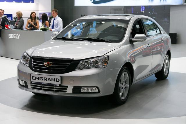 Geely Elgrand, az export-ígéret