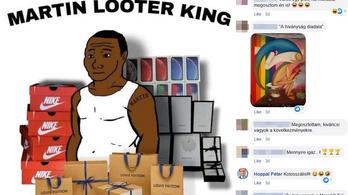 Rasszista viccet nevezett kolosszálisnak Hoppál Péter a Facebookon