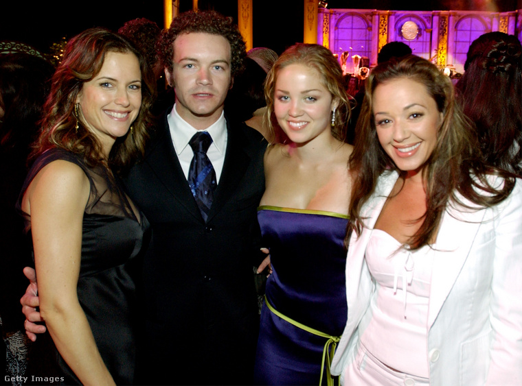 Kelly Preston színésznő (John Travolta felesége), Danny Masterson, Erika Christensen színésznő és Leah Remini egy 2003-as szcientológus-celebbulin