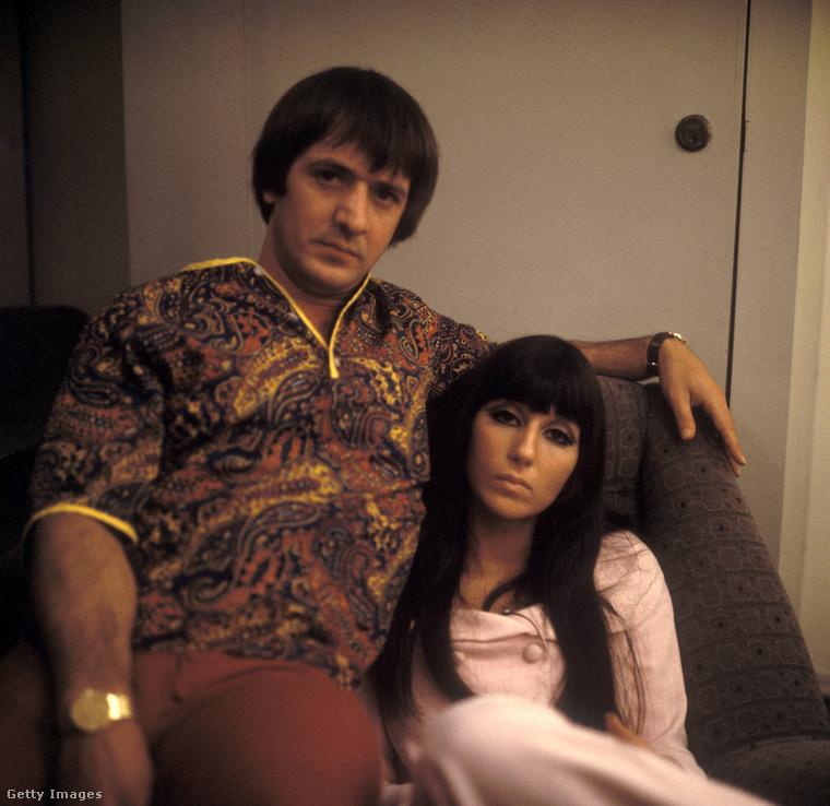 Sonny Bono és Cher.