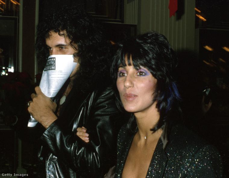 Gene Simmons és Cher a Kramer kontra Kramer című film premierjén.