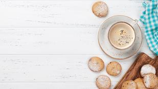 Ezeket a kávés kekszeket próbáld ki a délutáni teád mellé!