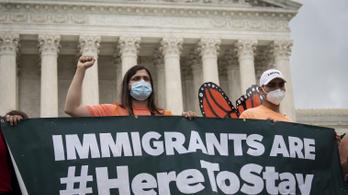 Trump kormánya ellen döntött a legfelsőbb bíróság a fiatal bevándorlók ügyében